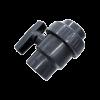DIN-PVC-SINGLE-UNION-BALL-VALVE-SOCKET