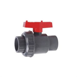 SINGLE-UNION-BALL-VALVE-SOCKET-RED-HANDLE