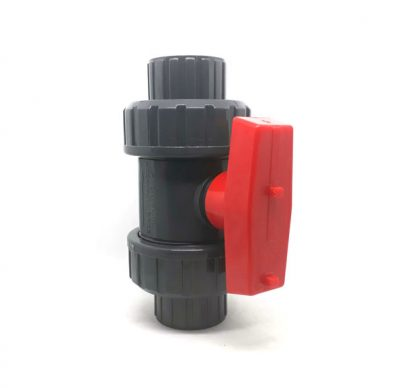 TRUE-UNION-BALL-VALVE-SOCKET-RED-HANDLE