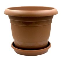 BROWN-GROUND-POT