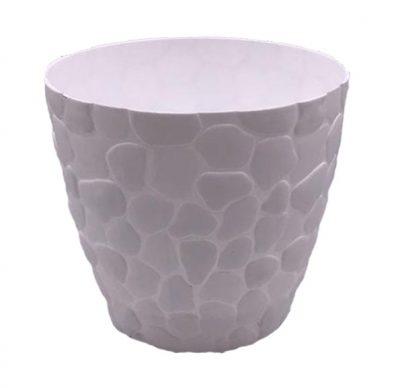 أصيص-بلاستيك-ديكور-صخري