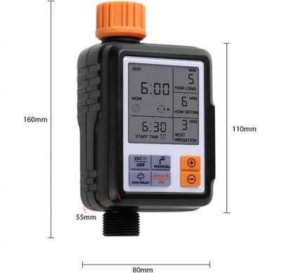 OUTDOOR-ELECTRONIC-AUTOMATIC-WATER-TIMER